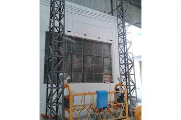 10m погон алуминиум јаже суспендирана платформа zlp1000 еден фаза 2 * 2.2kw