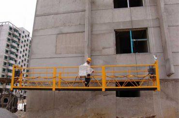 2,5 m * 3 секции привремено инсталираа опрема за пристап zlp800 со дигалка 1,8 kw