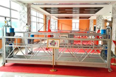 zlp630 алуминиум суспендирана платформа (ce iso gost) / висок излог прозорец чистење опрема / привремено гондола / лулка / замав фаза топла